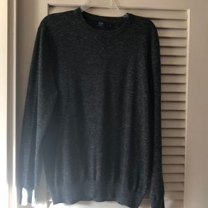 JCrew dark gray sweater